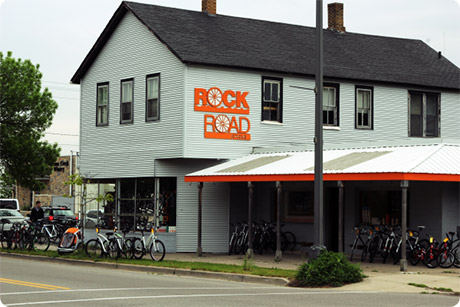 Grand Haven's bike shop on 7th street